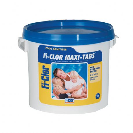 Fi-Clor Maxi-Tabs Chlorine Tablets 5kg - Discount Pool Products